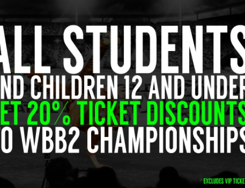 WBB2 CHAMPIONSHIPS TICKET DISCOUNTS