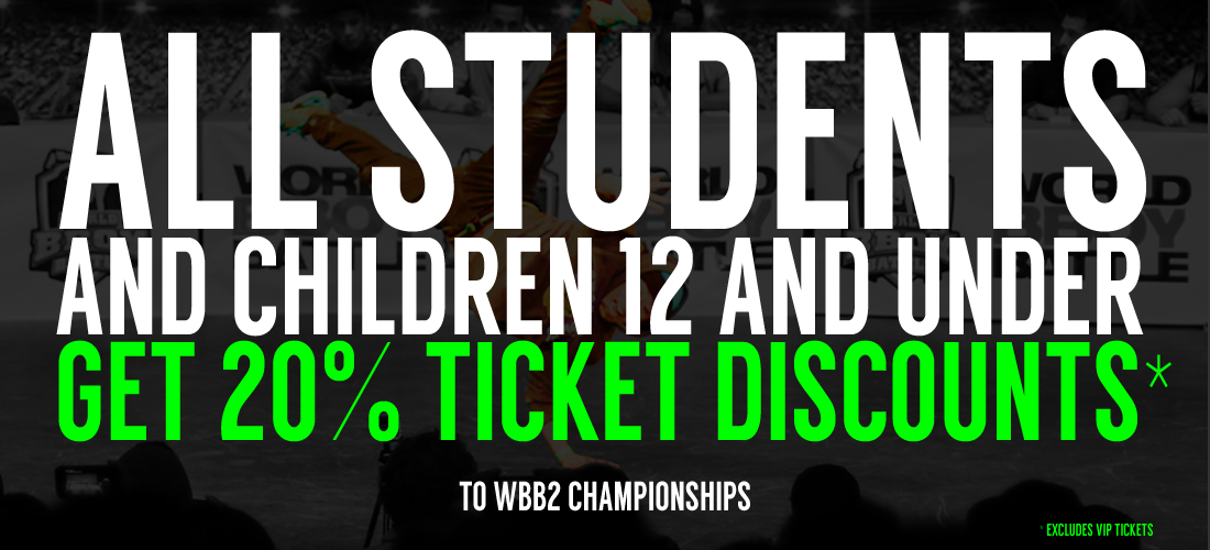 WBB2 CHAMPIONSHIP TICKET DISCOUNTS