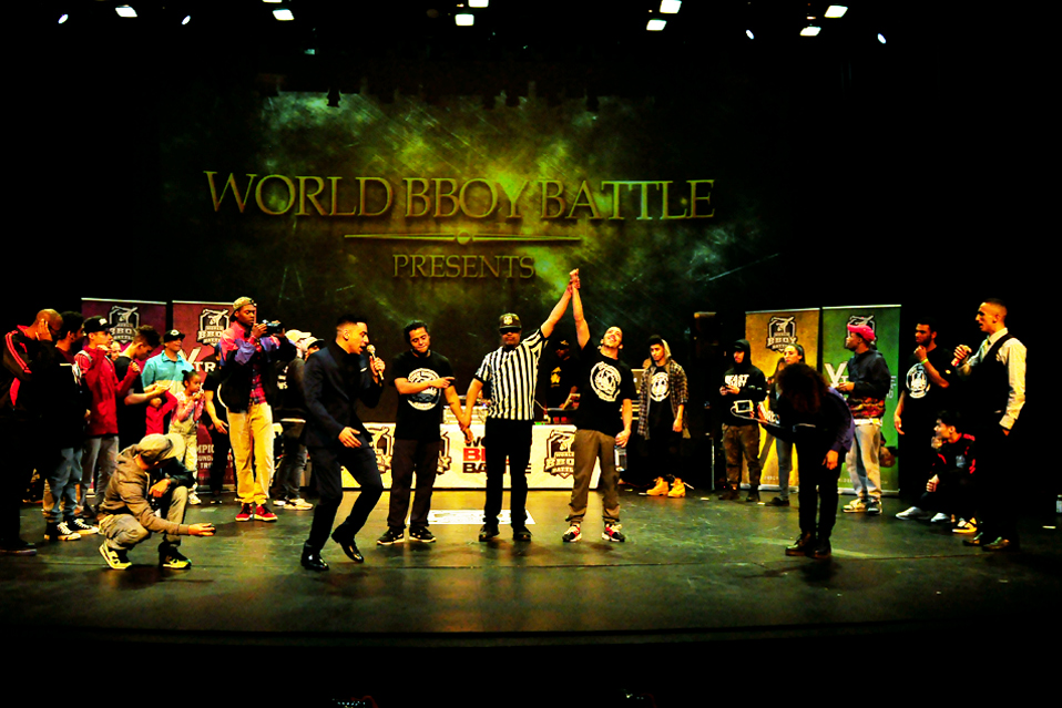 World Bboy Battle 2 Extreme Breakdancing Championships