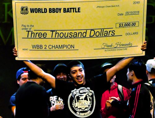 INSIDE WORLD BBOY BATTLE WITH BBOY EL NINO